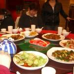 夕飯はもちろん中華