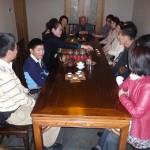 中国茶の入れ方を習う