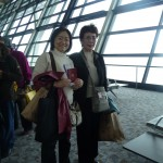 上海空港から仙台へ