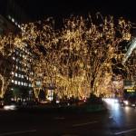 晩翠通りの交差点